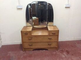 Deco styled dressing table