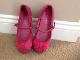 Cerise shoes