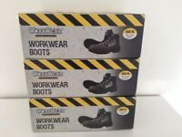 Bargain to clear - Heavy Duty Steel Toe Cap Work Boots - Sizes 10 and 11