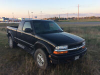 2000 Chevrolet S-10 with winter tires.