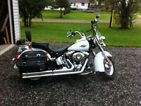 2013 Harley-Davison soft tail heritage classic. Must sell.