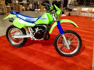 Fully Restored Kawasaki KDX 200 2 Stroke Air Cooled