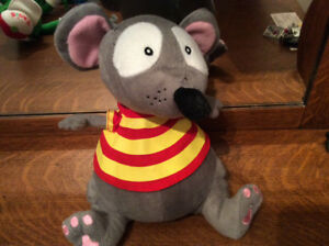 Toopy the Mouse from Toopy and Binoo. Plush toy