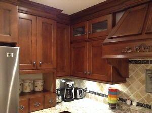 Cuisine... Armoires + comptoirs en granite + lave vaisselle West Island Greater Montréal image 5