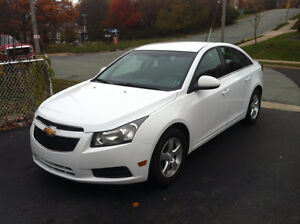 2011 Chevrolet Cruze LT Turbo White