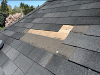 Roof repairs $250 flat rate up to 21 shingles
