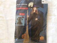 Witch Costume Ladies Size Medium Halloween Fancy Dress