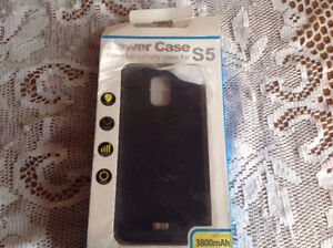 Powercase External battery for S5 or S6