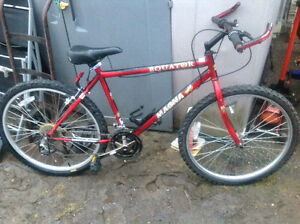 Mountain bike speed bike , looks good ,needs a front brake cable