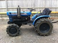Iseki 2140 3 cylinder 4 wheel drive compact tractor