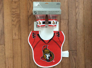 Ottawa Senators Bibs and Sippy cups Set