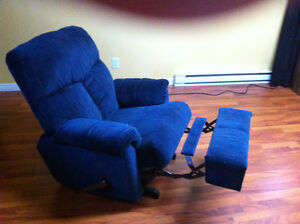 chaise fauteuil inclinable bercant