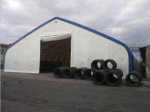 70' wide Premier Double Truss Storage Building w/ shipping