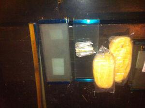 2 Gold fireplace bi-fold doors with screen Stratford Kitchener Area image 2