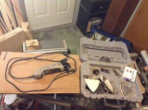 Dremel with case and attachments Cambridge Kitchener Area image 1