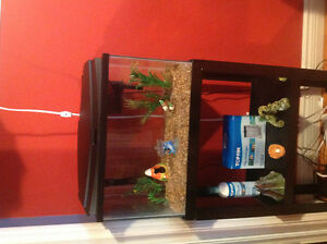 TOPFIN fish tank and stand