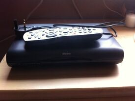 Sky HD Box with remote and cables