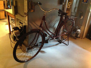 Bicyclette antique 1940