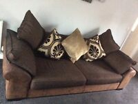 Martinez 4 seater sofa and chair
