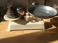 Vintage kitchen scales
