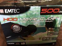 EMTEC HDD Movie Cube 500 GB
