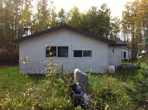 Cabin on Half acre lot County of Athabasca