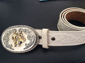 SQUARE DANCING BUCKLE AND BELT
