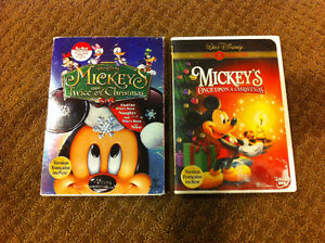 Mickey's Once Upon Christmas & Mickey's Twice Upon Christmas DVD