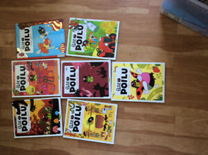 Poilu books 7 10$ for all