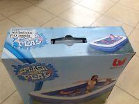 Splash and Play Paddling Pool, Brand New