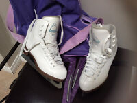 Figure ice skates size 1 excellent condition,like new kids