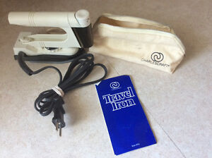 Charlescraft Dual Voltage Spray Travel Iron Kingston Kingston Area image 8