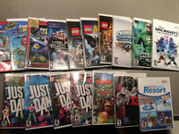 10 jeux Wii - Wii video games (mostly for kids)