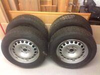 VW winter wheels and tyres