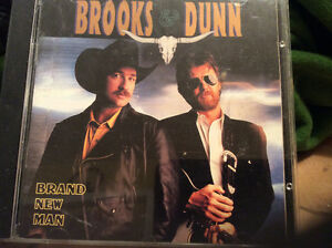 Brooks &Dunn cd's, Brand new man, Hard workin man