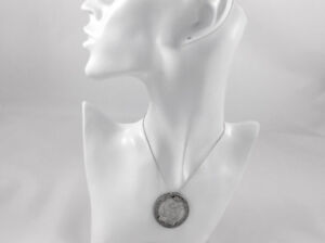1937 20 Lire San Marino Coin on Sterling Silver Chain