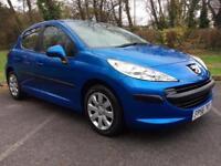 Peugeot 207 1.4HDI 70 ( a/c ) £30 Road Tax Cheap small car