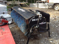 Bradco 267224 PowR Sweep - Skid Steer broom attachment