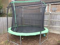 10ft Trampoline with surround