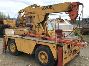 Simons AT60C Manlift /carry deck cranes / bucket truck. Prince George British Columbia image 5