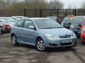 2005 05 TOYOTA COROLLA 1.4 COLOUR COLLECTION VVT-I 3D 92 BHP