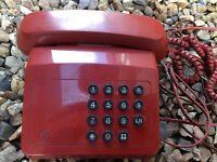 British telecom vintage retro original 1980-90s telephone working can post