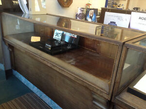 STORE CLOSING-MUST SELL DISPLAY CASES, ETC