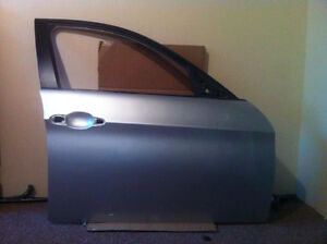 E90 front door shell left, right silver