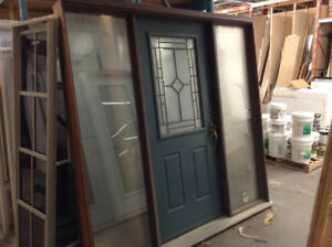 Entry Door Set with Sidelights