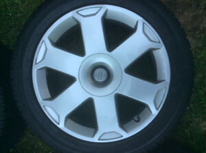 "Audi rims/tires 17""- Set of 4 - Excellent condition"