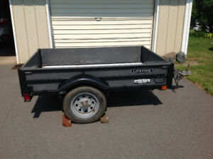 4 x 6 foot folding Lifetime Trailer - very good condition