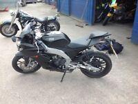 Black aprilia rs4 125cc 3200miles