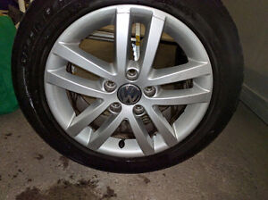 4x vw mags with tires 500$ nego