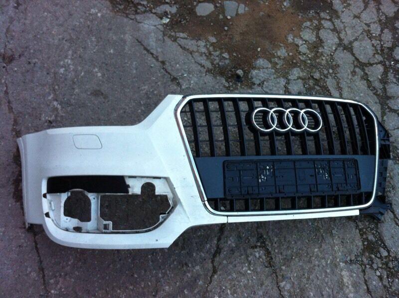 Audi Q3 2013 2014 genuine front corner bumper+ grille for sale